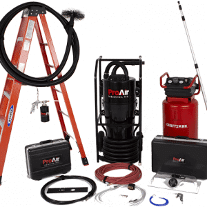 Pro air duct cleaning equipment