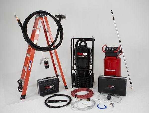 Features and detail of ProAir Complete Duct Cleaning Equipment Package