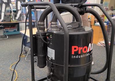 duel motor vacuum
