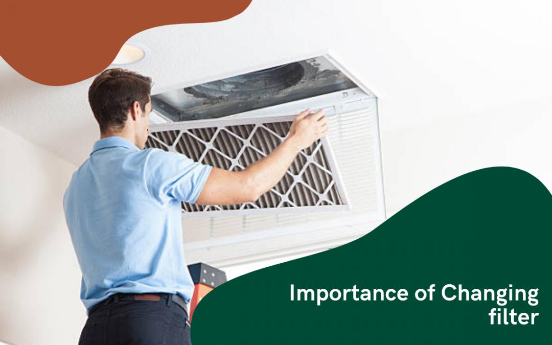 Importance of changing HVAC filter